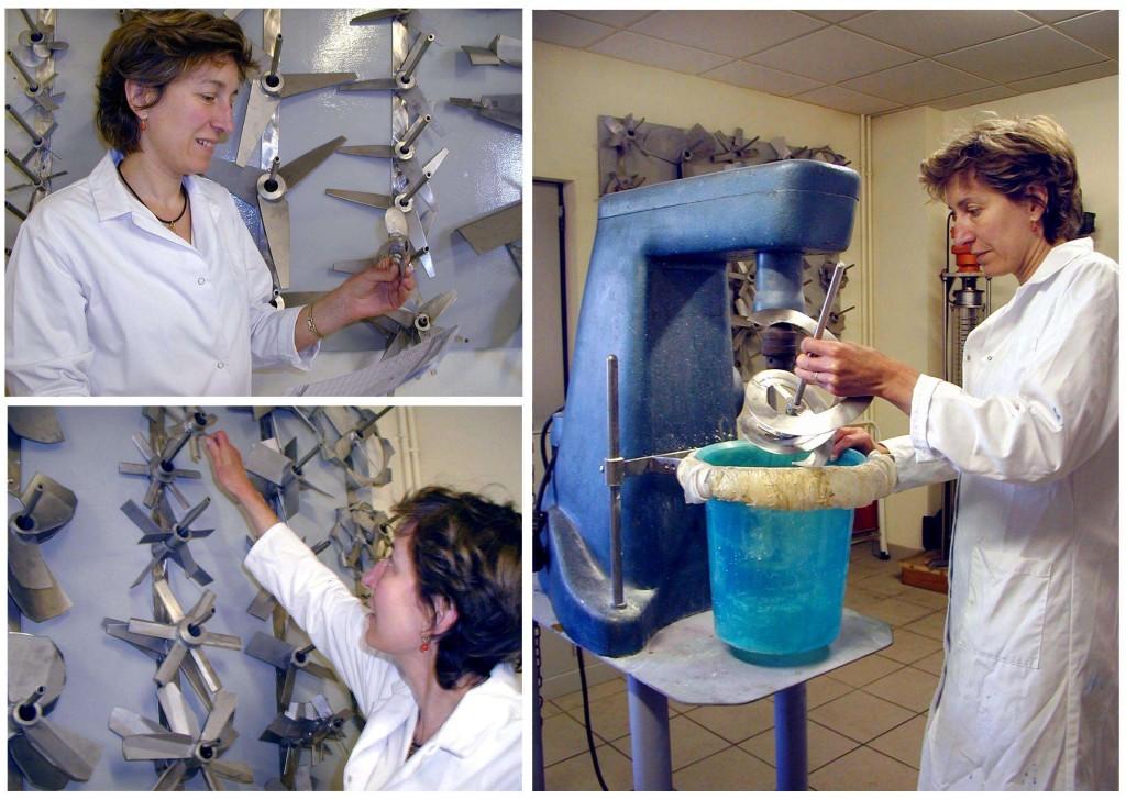 Laboratoire d'essais en agitation industrielle