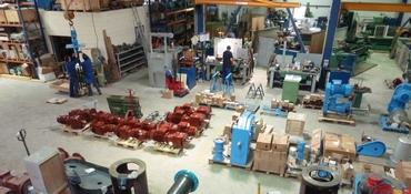 Usine de fabrication de mélangeurs industriels